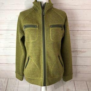 PrAna | Zip Up Fleece Jacket Size Medium
